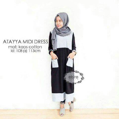attaya midi dress