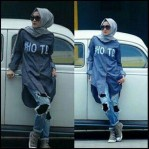 HOTD blouse  denim
