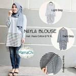 nayla blouse katun
