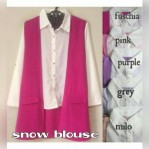snow blouse katun