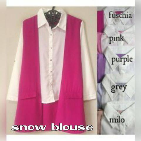 snow blouse seri 48500 reseller 54500