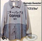 coffee top spandek kombi katun