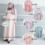 isyana dress spandek
