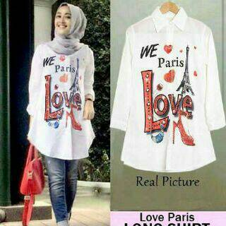 love shirt paris seri 60500 reseller 66500