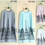 paris tunik katun