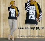 love,live,laugh top spandek