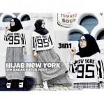 set hijab new york katun