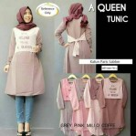 a queen tunik katun