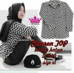 chevron zigzag top katun