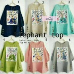 Elephant Top Blouse