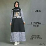 levina dress babytery mix katun