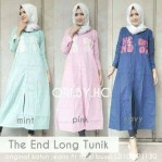 the end long tunik katun