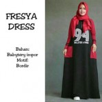 fresya dress babyterry