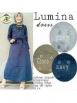 lumina dress katun