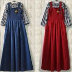 smile overall dress spandek