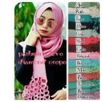 Pashmina love diamond crepe