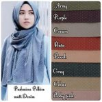 Pashmina polkies denim
