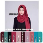 Pashmina buuble pop