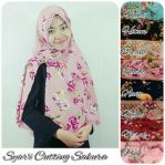 Syar'i cutting sakura bubble pop