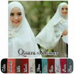Qinara khimar sifon cerutty 2layer