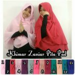 Khimar zaniar pita cerutty 2 layer