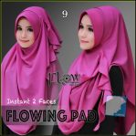 Flowing pad diamond magenta