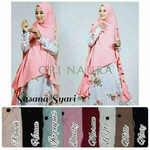 Sasana khimar cardy bubble pop