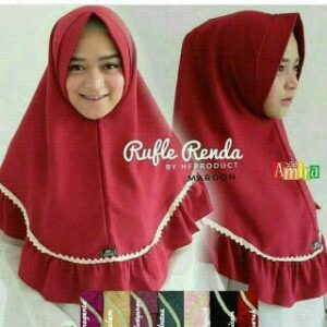 Ruffle renda pad bubble pop