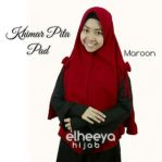 Khimar pita pad bubble pop MARON by elheeya hijab