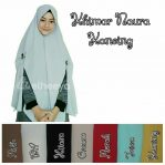Khimar naura kancing bubble pop