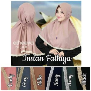 Instan fathiya bubble pop by Elheeya Hijab