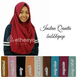 Instan qanita bubble pop by elheeya hijab