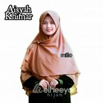 Khimar layer Silver by elheeya