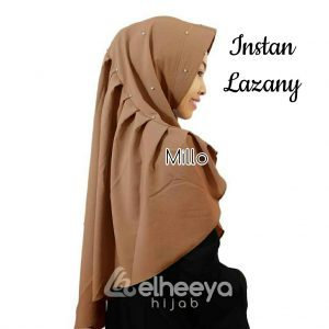 Instan lazany bubble pop MILO by elheeya hijab