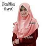 Instan kartika serut bubble pop DUSTY by elheeya hijab