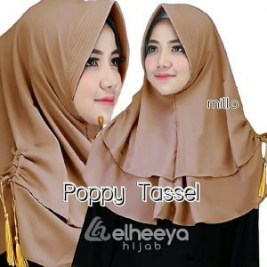 Instan poppy tassel bubble pop MILO by elheeya hijab