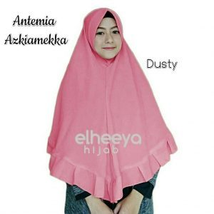 Khimar antemia azkiamekka bubble pop DUSTY by elheeya hijab