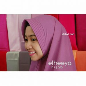 Khimar simple pad (detail pad) by elheeya hijab