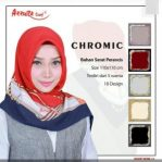 square chromic serat perancis by azzura scarf