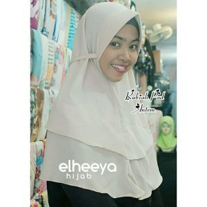 Instan rubiah pad bubble pop by.Elheeya Hijab