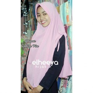 Khimar zahira pita pad bubble pop by Elheeya Hijab