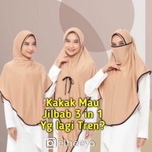 Jilbab masker 3 in 1