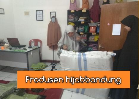 Produksi Hijab di Kota Bandung